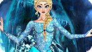 Игра Холодное сердце: Эльза одевалка и прически