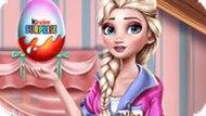 Игра Холодное сердце: Эльза открывает Киндер сюрприз