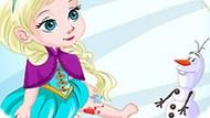 Игра Холодное сердце: Эльза получила травму
