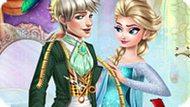 Игра Холодное сердце: Эльза портной для Джека Фроста