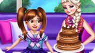 Игра Холодное сердце: Эльза поздравляет с днем рождения