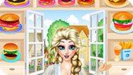 Игра Холодное сердце: Эльза продает бургеры