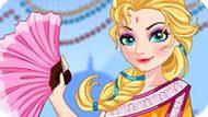 Игра Холодное сердце: Эльза путешествует в Индию