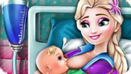 Игра Холодное сердце: Эльза родила ребенка