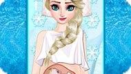 Игра Холодное сердце: Эльза рожает малыша