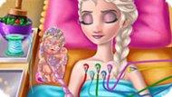 Игра Холодное сердце: Эльза рожает наследника