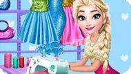 Игра Холодное сердце: Эльза швея
