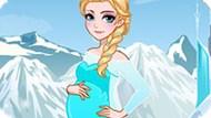 Игра Холодное сердце: Эльза скоро станет мамой
