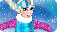 Игра Холодное сердце: Эльза сноубордистка