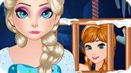 Игра Холодное сердце: Эльза спасает Анну