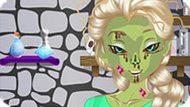 Игра Холодное сердце: Эльза стала зомби