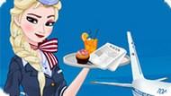 Игра Холодное сердце: Эльза стюардесса
