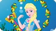 Игра Холодное сердце: Эльза теперь русалка