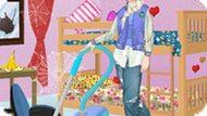 Игра Холодное сердце: Эльза убирает комнату в общежитии