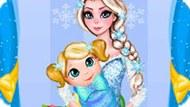 Игра Холодное сердце: Эльза убирает в детской комнате