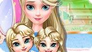 Игра Холодное сердце: Эльза уход за близнецами