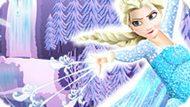 Игра Холодное сердце: Эльза украшает елку