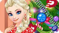 Игра Холодное сердце: Эльза украшает новогоднюю елку