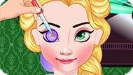 Игра Холодное сердце: Эльза в глазной клинике