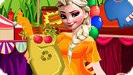 Игра Холодное сердце: Эльза в конфетной стране