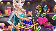 Игра Холодное сердце: Эльза в магазине подарков