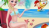 Игра Холодное сердце: Эльза в отпуске