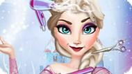 Игра Холодное сердце: Эльза в парикмахерской