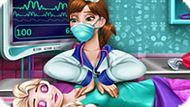 Игра Холодное сердце: Эльза в реанимации