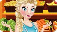 Игра Холодное сердце: Эльза в супермаркете