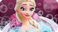Игра Холодное сердце: Эльза в ванной