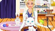 Игра Холодное сердце: Эльза ветеринар