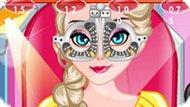 Игра Холодное сердце: Эльзе идет к глазному врачу