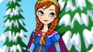 Игра Холодное сердце: Классическая мода Анны