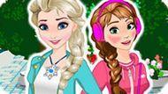 Игра Холодное сердце: Классные сестры