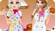Игра Холодное сердце: Конкурс поваров
