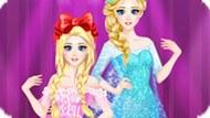 Игра Холодное сердце: Королевский бал Эльзы и Анны