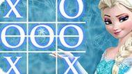 Игра Холодное сердце: Крестики нолики с Эльзой