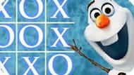 Игра Холодное сердце: Крестики нолики с Олафом