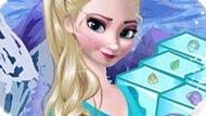 Игра Холодное сердце: Кристаллы Эльзы