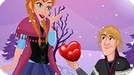 Игра Холодное сердце: Кристоф делает предложение Анне