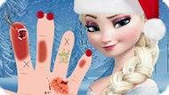 Игра Холодное сердце: Лечение руки Эльзы