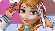 Игра Холодное сердце: Лечить глаза Анне
