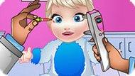 Игра Холодное сердце: Лечить глаза малышке Эльзе