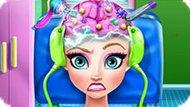 Игра Холодное сердце: Лечить мозг Эльзе