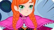 Игра Холодное сердце: Лечить ногу Анне