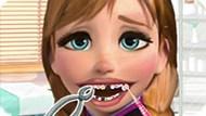 Игра Холодное сердце: Лечить зубы Анне