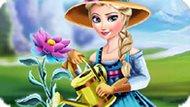 Игра Холодное сердце: Ледяной цветок Эльзы