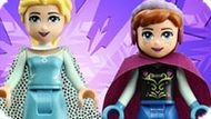 Игра Холодное сердце: Лего Эльза и Анна