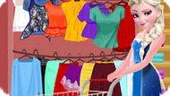 Игра Холодное сердце: Летний шопинг Эльзы