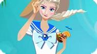 Игра Холодное сердце: Летняя мода Эльзы